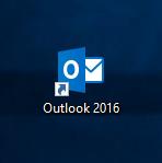 Verknüpfung zu Outlook 2016